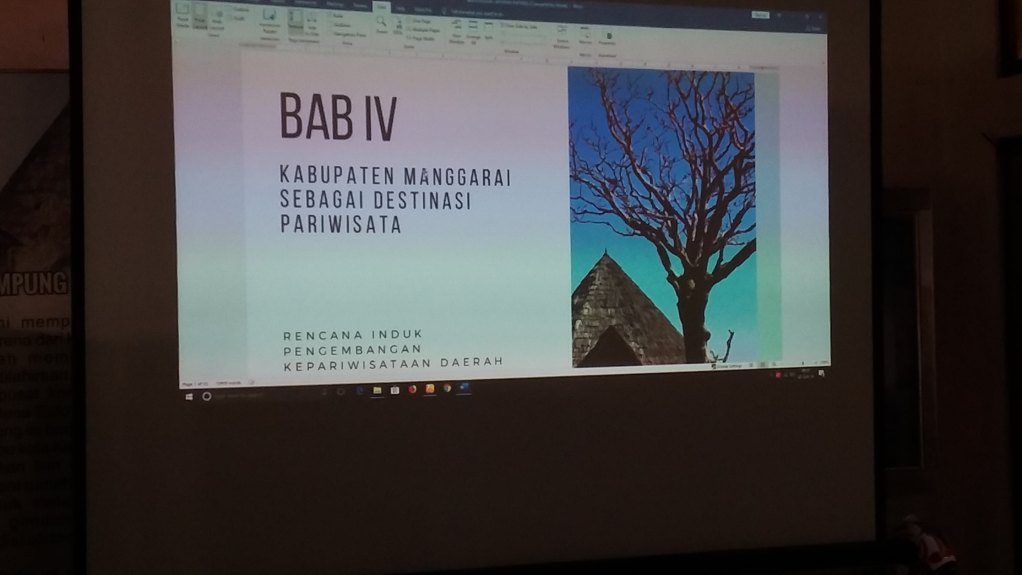 PEMBAHASAN (RIPDA) RENCANA INDUK PENGEMBANGAN KEPARIWISATAAN DAERAH_KABUPATEN MANGGARAI TA. 2019