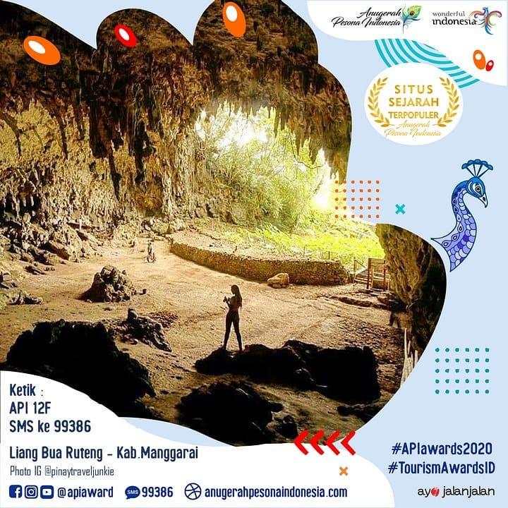Liang Bua Ruteng-Kab. Manggarai sebagai salah satu Situs Sejarah Terpopuler